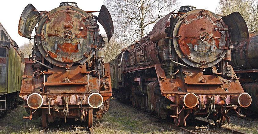 Imagen trenes corrosión Inelca